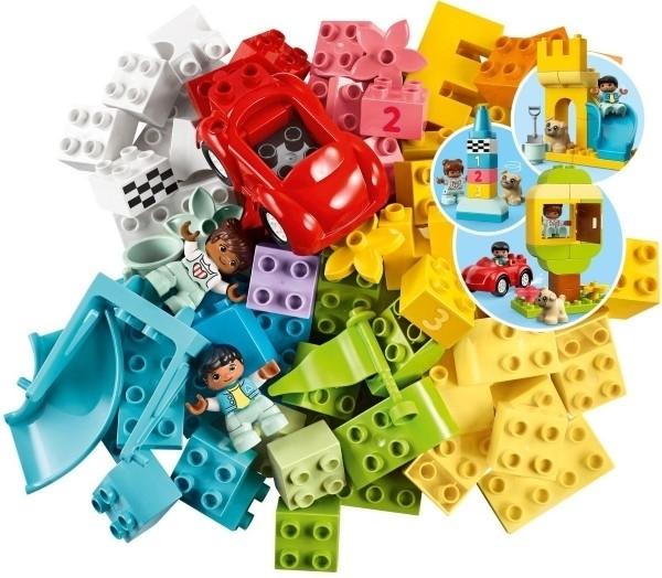 【LEGO樂高】DUPLO 豪華顆粒盒 #10914