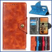 HTC Desire 19+ 銅釦牛紋 手機皮套 插卡 支架 皮套 內軟殼 掀蓋殼