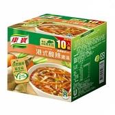 [COSCO代購] C115917 KNORR HOT 康寶港式酸辣濃湯 46.6公克 X 10包
