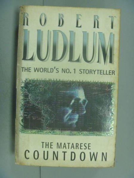 【書寶二手書T2/原文小說_LDU】The Matarese Countdown_Ludlum