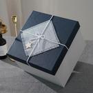 禮物盒 正方形禮品盒超大伴手禮禮物盒大號禮物包裝盒生日禮盒包裝盒子【快速出貨八折下殺】