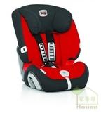 {家事達}Britax旗艦成長型汽車安全座椅-紅色  英國原裝進口 2014提籃安全汽座第一名金牌