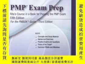 二手書博民逛書店Pmp罕見Exam Prep Ritas Course In A