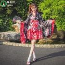 洛麗塔洋裝cosplay服裝日本櫻花和服...