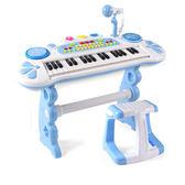 初學入門帶麥克風男孩女孩1-3-6歲兒童電子琴玩具禮物   LVV8365【大尺碼女王】TW