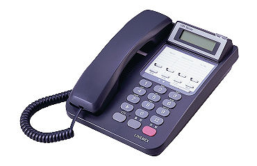 聯盟 ISDK-4TD  4外線顯示型數位電話機-[總機系統  企業電話系統]-廣聚科技