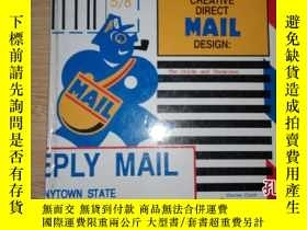 二手書博民逛書店CREATIVE罕見DIRECT MAIL DESIGN:The