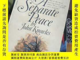 二手書博民逛書店A罕見Separate peace13209 A Separat