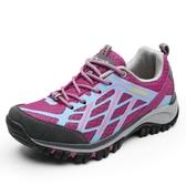 登山鞋男女鞋戶外春夏季徒步鞋涉水防滑真皮旅游鞋