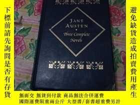 二手書博民逛書店Three罕見Complete Novels: Sense and Sensibility, Pride and