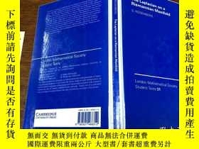 二手書博民逛書店The罕見Laplacian on a Riemannian Manifold: An Introduction