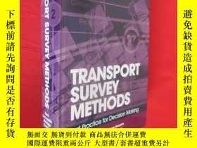 二手書博民逛書店Transport罕見Survey Methods: Best