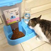 貓咪用品自動喂食器貓碗雙碗自動飲水寵物自動喂食器狗碗狗狗用品LG-22948