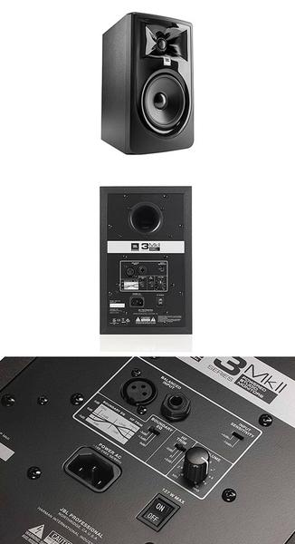 【敦煌樂器】JBL 305P MKII 監聽喇叭 一對