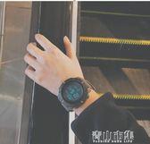 韓版簡約運動手錶夜光多功能數字式電子錶男女中學生 青山市集