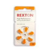 瑞士原裝 REXTON 助聽器專用 鋅空電池 13號 專品藥局 【2012720】