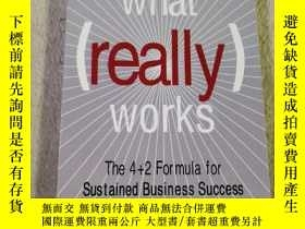 二手書博民逛書店What(works)The4+2For罕見mula for s