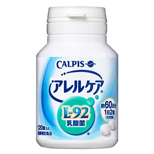 日本 可爾必思 Calpis L-92 健康乳酸菌60日 阿雷可雅