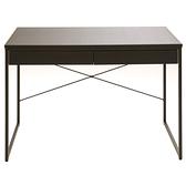巴菲特皮革時尚雙抽書桌 採E1板材