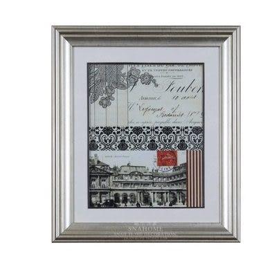 法式有框裝飾畫(一個價)(圖一)-EBB544