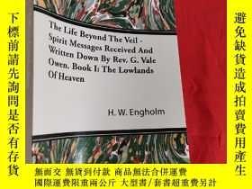 二手書博民逛書店The罕見Life Beyond the Veil - Spirit Messages Received and