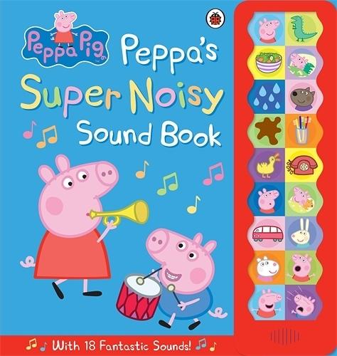 Peppa Pig:Peppa's Super Noisy Sound Book 佩佩豬吵鬧的一天 精裝音效故事書