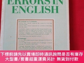二手書博民逛書店COMMON罕見ERRORSIN ENGLISHY179070 COMMON ERRORSIN ENGLISH