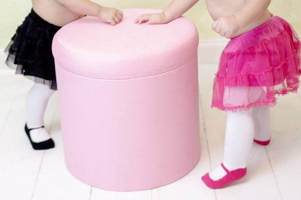 美國 Baby Emporio 造型棉襪 瑪莉珍 褲襪 嬰兒襪 襪子 桃紅色 0-6M 6-12M