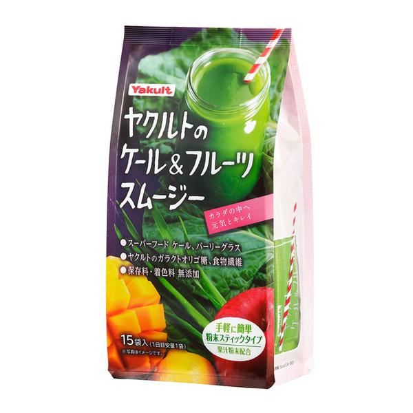 養樂多的羽衣甘藍蔬果昔15包(沖泡式粉末)