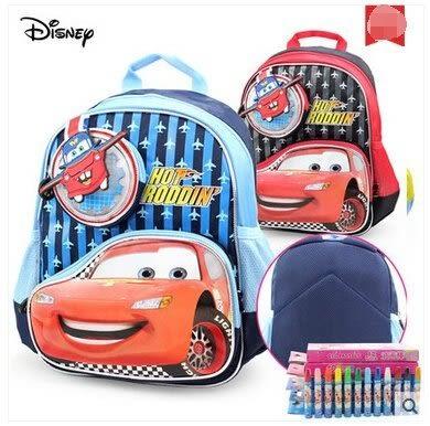 迪士尼書包汽車兒童書包 幼兒園書包