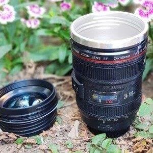 巨安網購?【S106121406】單眼相機鏡頭杯 新款附杯蓋