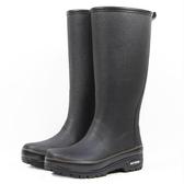 品質春夏高端雨鞋男透氣純色超高筒天然橡膠防水防滑釣魚水鞋膠鞋 浪漫西街