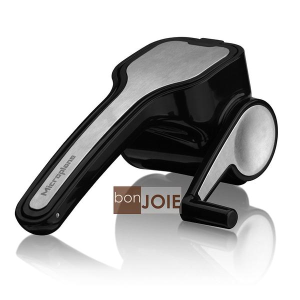::bonJOIE:: Microplane Rotary Cheese Grater 手動旋轉式不銹鋼乳酪研磨器 (刨刀 刨絲器 磨粉 奶酪 不鏽鋼