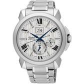 【僾瑪精品】SEIKO 精工Premier 廣告款萬年曆時尚腕錶 7D56-0AE0S(SNP139J1)