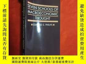 二手書博民逛書店Seven罕見Schools of Macroeconomic Thought (大32開) 【詳見圖】Y54