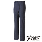 Polarstar 男 防潑水保暖打褶長褲 黑藍 P15419 |雪褲│保暖│耐磨│快乾│防潑水