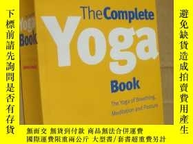 二手書博民逛書店The罕見Complete Yoga Book:The Yoga of Breathing,Posture,and
