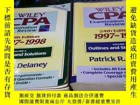 二手書博民逛書店Wiley罕見Cpa Examination Review 19