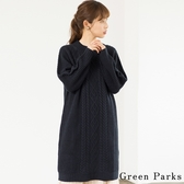 ❖ Hot item ❖ 麻花長版針織上衣 - Green Parks