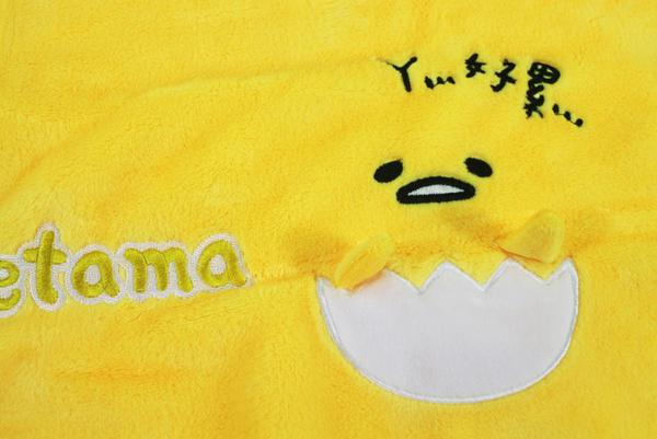 【卡漫城】 蛋黃哥 絨毛 小毛毯 ㊣版 gudetama 冷氣毯 毯子 薄毯 舒眠毯 保暖 Egg