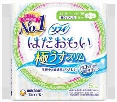蘇菲 柔軟敏感肌膚 日用型衛生棉21cm