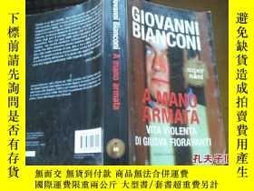 二手書博民逛書店GIOVANNI罕見BIANCONI A MANO ARMATA