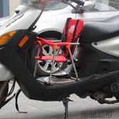 電瓶電動腳踏車男女式摩托踏板前置安全小孩嬰兒童寶寶折疊座椅【潮咖地帶】