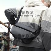 斜背包男士胸包腰包潮牌機能側背包運動郵差包小背包大容量男包女【毒家貨源】