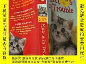 二手書博民逛書店kittens罕見in trouble 小貓陷入困境Y200392
