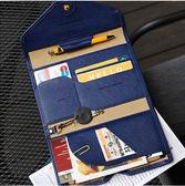 出國PU護照包旅行多功能三折證件夾防消磁皮面護照保護套