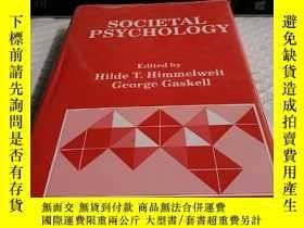 二手書博民逛書店SOCIETAL罕見PSYCHOLOGYY4211 出版1990