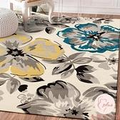 北歐滿鋪可愛簡約現代門墊客廳茶幾沙發地毯臥室床邊毯長方形地墊【大碼百分百】