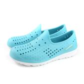 GOOD YEAR 固特異 懶人鞋 洞洞鞋 淺藍色 女鞋 GAWP82806 no054