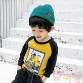 男童長袖T恤兒童打底衫寶寶上衣小童韓版【聚可愛】
